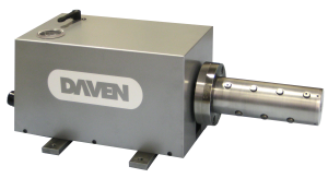"Portable Pneumatic Winder with Button Style Expanding Air Shaft for 3"" Core by Daven Manufacturing"