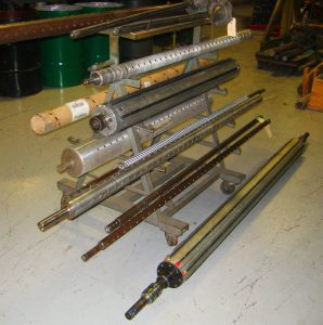 Domestic and Foreign Expanding Air Shafts repaired or rebuilt by Daven Manufacturing