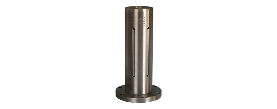 "Steel Lug Style Shaft, 6"" O.D. with Flanged End"