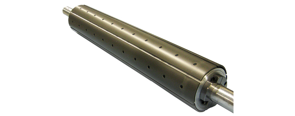 """Aluminum Expanding Leaf Chuck for 8"""" Core or Coreless Winding with Hardened Surface"""
