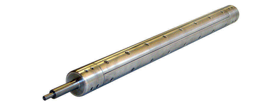 "Aluminum Leaf Shaft for 3"" Core"