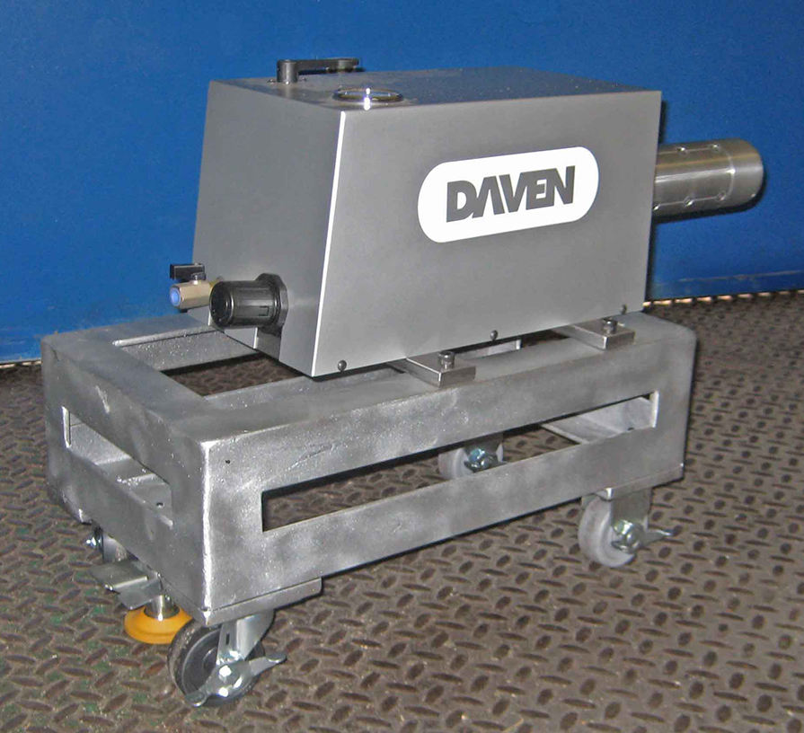 Portable Pneumatic Winder on Cart by Daven Manufacturing